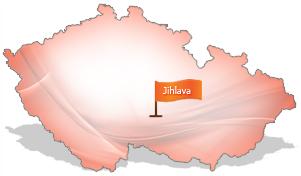 Mapa Jihlava